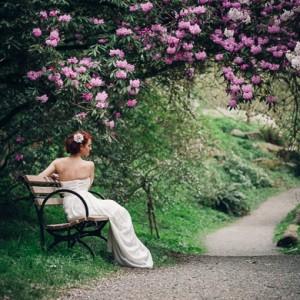 destination elopement garden inspiration