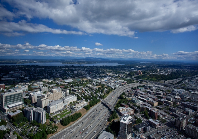 View from Seattle