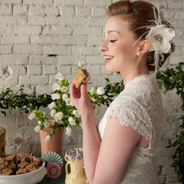 vintage bride style shoot