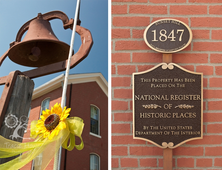 Historical farmhouse wedding