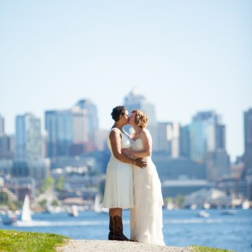 fun Seattle wedding photographer