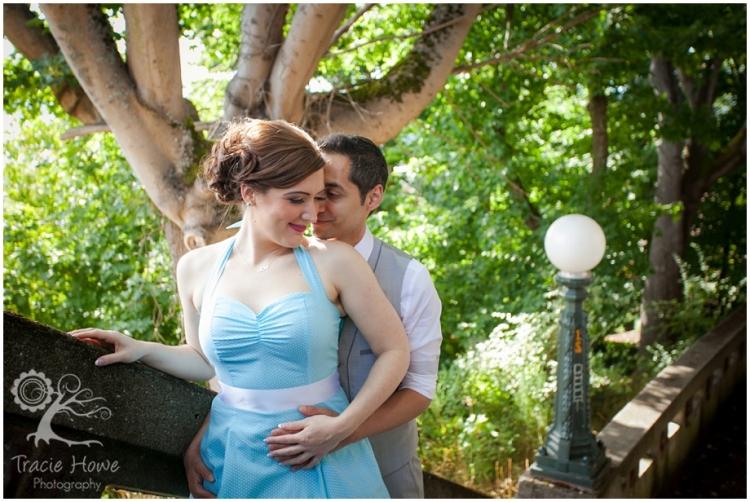 Parsons Garden wedding photography Seattle