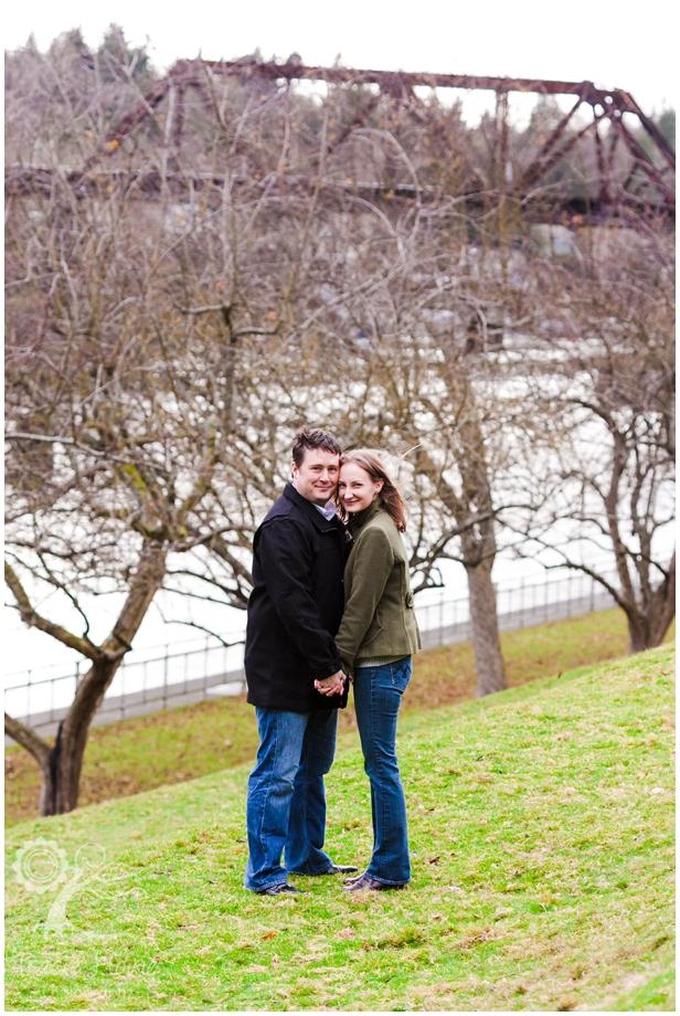 Ballard Locks engagement photographer
