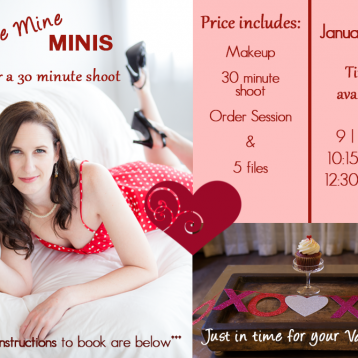 2015 Seattle Valentines boudoir mini shoot