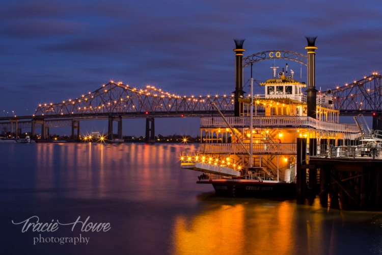 I was happy that the Creole Queen was parked in such a way that I could capture some of the old world charm present in New Orleans.