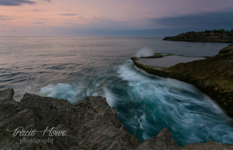 One of my favorite discoveries in Indonesia was this rocky cliffside viewpoint in Nusa Lembongan.