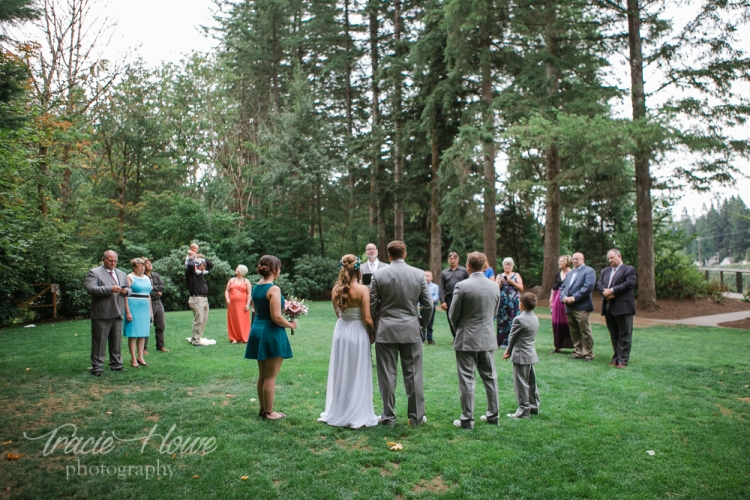 I loved the set up of this non-traditional elopement ceremony.