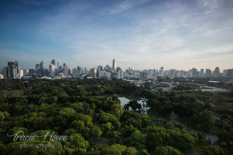Sofitel So Bangkok view over Lumpini Park and the city of Bangkok. http://tracietravels.com/2015/10/sofitel-so-bangkok-a-luxurious-welcome-back-to-bangkok/