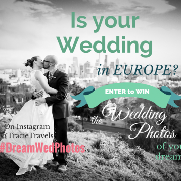 Europe destination wedding photography giveaway