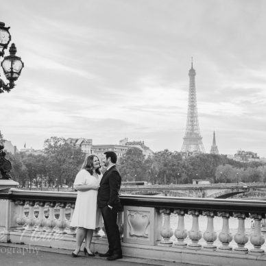 Paris wedding photos